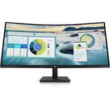HP P34hc G4, 34.0 VA/Curved, 3440x1440, 3500:1, 5ms, 250cd, HDMI/DP/USB-C, 3-3-0, repro/doking