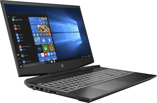 HP Pavilion Gaming 15-dk1007nc, i5-10300H, 15.6 FHD, GTX1660Ti/6GB, 16GB, SSD 256GB + 1TB, W10, 2-2-0, Black
