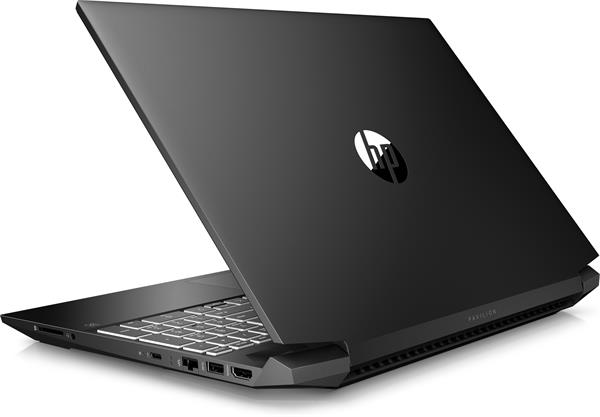 HP Pavilion Gaming 15-ec1005nc, Ryzen 7 4800H, 15.6 FHD, GTX1660Ti/6GB, 16GB, SSD 512GB, FDOS, 2-2-0, Black