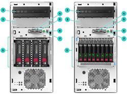 HP ProLiant ML30 G10 E-2124 1P 16GB-U S100i 4LFF 2x1Gb 350W PS Perf Server