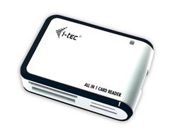 i-Tec USB 2.0 All-in One reader - White/Black