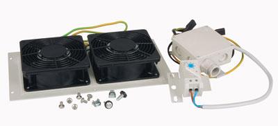 MOELLER / EATON ventilačná doska,2 ventilátory,s filtreo pre rozv. NWS, vč.termostatu