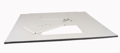 MOELLER / EATON vrchné/spodné kryt rozv.NWS, 600x600 pre 2x vent.dosku