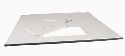 MOELLER / EATON vrchné/spodné kryt rozv.NWS, 800x800 pre 2x vent.dosku