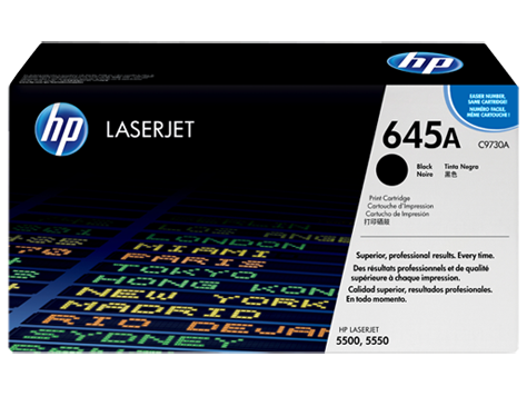 HP toner for CLJ5500/5550 black