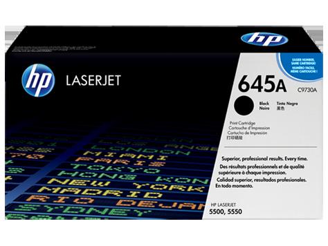 HP toner for CLJ5500/5550 black