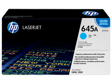 HP toner for CLJ5500/5550 cyan