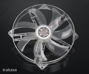 AKASA AK-F1825SM 18cm Ultra Quiet Case Fan on 14cm fitting