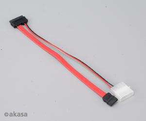 AKASA AK-CB050 SATA+Molex to Mini SATA Power and Data