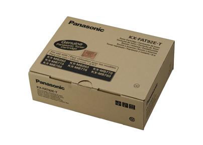 Panasonic KX-FAT92E-T toner. kazeta - TriplePack pre KX-MB263/ MB773/ MB783 (3 x 2 000)