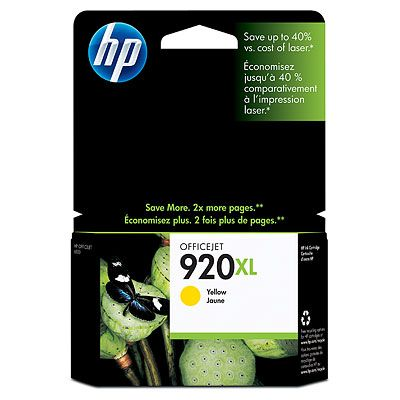HP 920XL Yellow Officejet Ink Cartr.