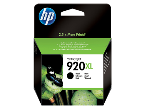 HP 920XL Black Officejet Ink Cartridges