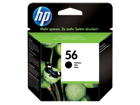 HP no. 56 black ink for PhotoRET IV printers (19ml)