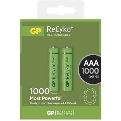 GP Nabíjacia batéria GP ReCyko+ 1000 AAA 2ks.