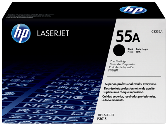 CE255A HP toner čierny pre LaserJet P3015