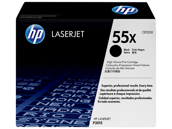 CE255X HP toner čierny pre LaserJet P3015