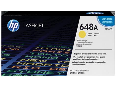CE262A HP toner yellow pre LaserJet CP4525