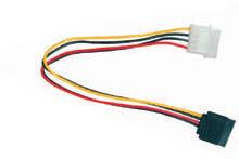 SATA Power kábel / napájacia redukcia 1x MOLEX 5,25 na 1xSATA