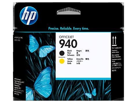 HP 940 Officejet Printhead black/yellow