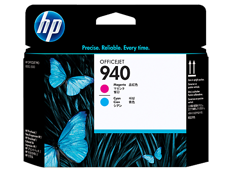 HP 940 Officejet Printhead cyan/magenta