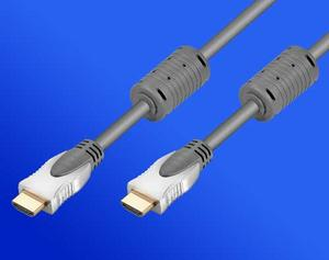 kábel HDMI-HDMI 15m M/M, tienený s feritom. Standardy HDMI 1.3