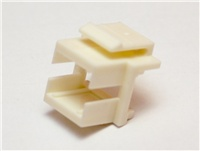 CNS keystone redukcia pre spojku SC simplex, biela