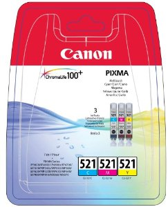 Canon cartridge CLI-521 pack CLI-521 C/M/Y