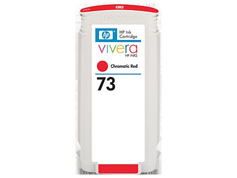 HP No 73 Ink Cart/Chrom Red 130ml/Viv