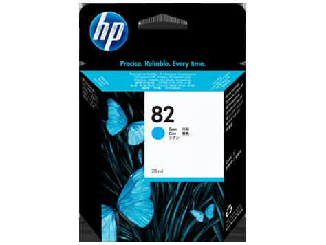 HP No 82 Ink Cart/Cyan 28ml