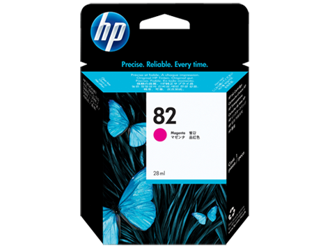 HP No 82 Ink Cart/Magenta 28ml