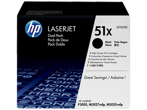 Toner Cartridge for HP LaserJet P3005 (13,000 pages) /double pack/
