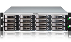 Promise VtrakJ630s-Dual, 3U Rack 6Gb/s SAS 16-drive JBOD