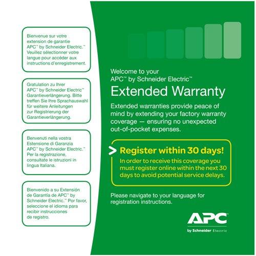 Service Pack 1 Year Warranty Extension - predĺženie záruky (pre nové produkty)