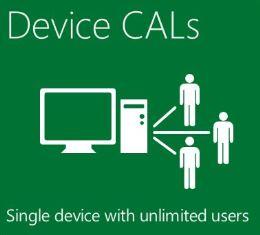 Win Server CAL - Lic/SA OLV NL 1Y AqY1 AP Device CAL Com
