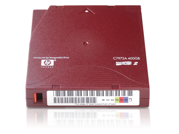 hp ultrium data cartridge 400G LTO2