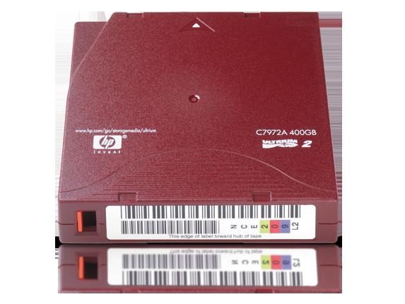 hp ultrium data cartridge 400G LTO2