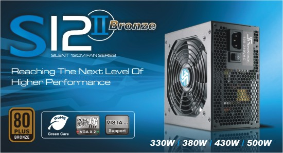 Zdroj 620W, SEASONIC S12II-620 (SS-620GB F3) 80PLUS Bronze, Retail