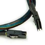 Cable, 4x SATA /Host/ TO mini SAS SFF8087 /backplane/ 600mm
