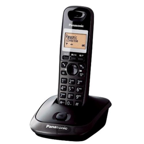 Panasonic KX-TG2511FXT telefon bezsnurovy DECT / titanovo cierny 1x