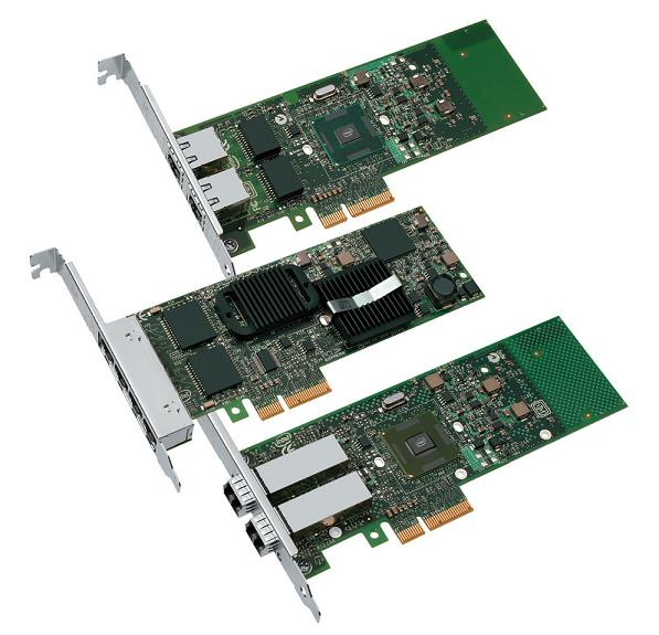 Intel® Gigabit Quad Port Ethernet I340 -T4 PCI-Ex
