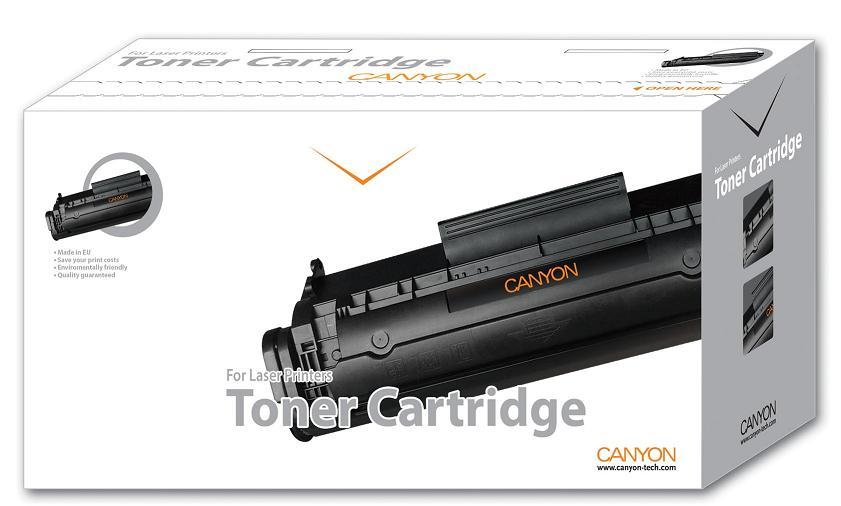 CANYON - Alternatívny toner pre HP CLJ 1600/2600 No. Q6000A+chip black (2.500)