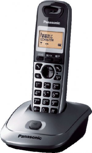 Panasonic KX-TG2511FXM telefon bezsnurovy DECT / titan silver 1x