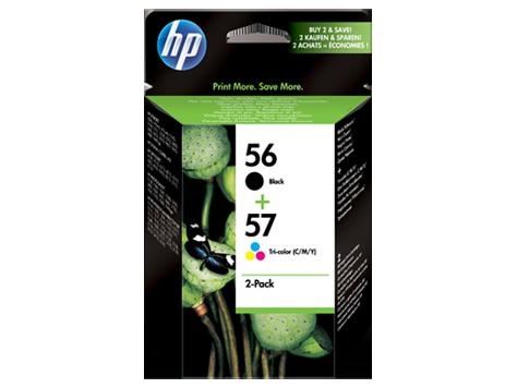 HP náplne č. 56/57 kombinované balenie