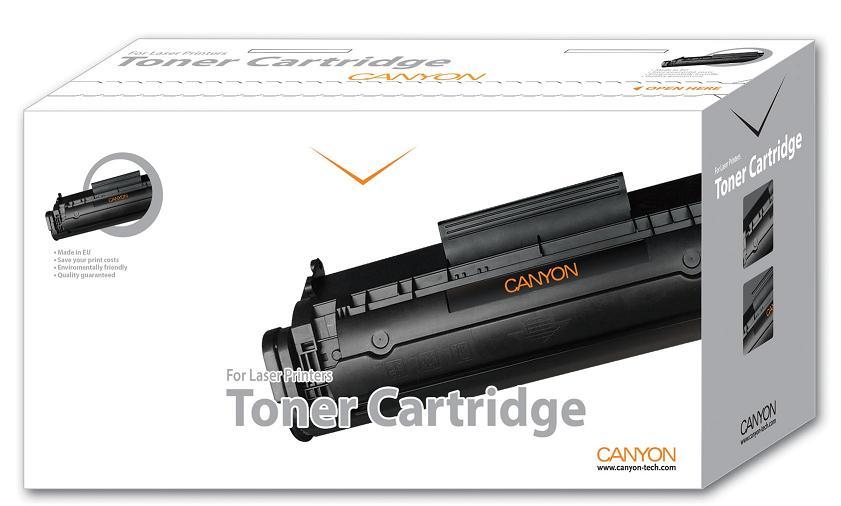 CANYON - Alternatívny toner pre HP LJ CP1215 No. CB542A yellow + chip (1.400)