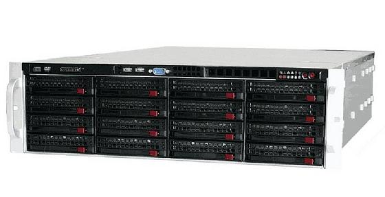 Supermicro® CSE-836E16-R1200B 3U chassis