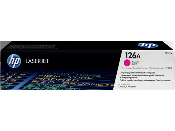 HP toner magenta HP126 (1.000str)