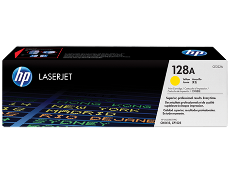 HP toner yellow HP128