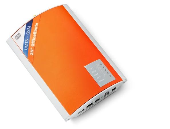 2N OfficeRoute 2xGSM, 100-240V EU plug