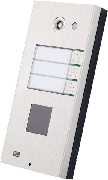 2N Helios IP Vario, 1 tlačítko + klávesnice