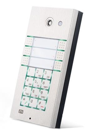 2N Helios IP Vario, 3x2 tlačítka + kamera + klávesnice